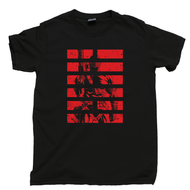Snake Eyes T Shirt Arashikage Ninja Clan Storm Shadow Cobra G.I. Joe Black Tee