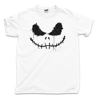 Jack Skellington The Pumpkin King T Shirt Nightmare Before Christmas White Tee