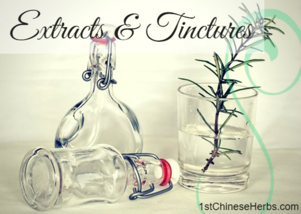 Extracts & Tinctures by 1stChineseHerbs