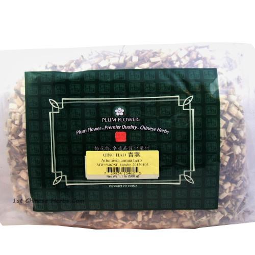 Sweet Annua (Qing Hao) - Cut Form 1 lb. - Plum Flower Brand