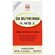 Abundant Yin Teapills (Da Bu Yin Wan) Min Shan Teapills 200 ct