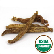 Ginseng root, 4 oz. in bulk form.   Can be made into a tea, or used in a formula.
