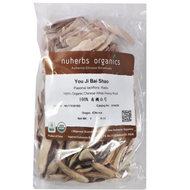 Chinese White Peony Root - Bai Shao Organic