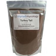 Turkey Tail Mushrooms Trametes versicolor Myriad Mycology Mushroom Powder 1 pound