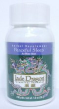 Peaceful Sleep Teapills (An Mien Wan) - 200 Pills/Bottle - Jade Dragon Brand