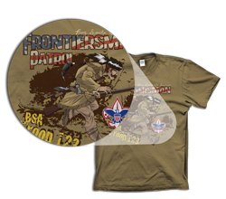 full color boy scout t-shirts