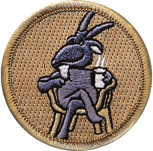 adult boy scout leader patrol patch