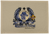 Custom Mech Warrior Patrol Patch Flag with Colored Wings (SP5772)
