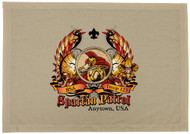 Custom Spartan Patrol Patch Flag with Colored Wings (SP5753)