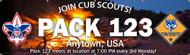 Custom Recruitment Night Banner - Campfire (SP5309)