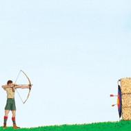 Archery Boy Scouts 12x12 paper