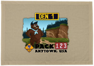 Custom Bear Den Flag (SP5927)