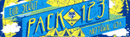 Custom Cub Scout Pack Banner Comic Book Style (SP6120)