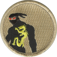 Red Eyed Ninja Patrol Patch