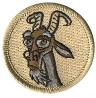 Official Licensed Old Goat Head Patrol Patch