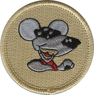 Cool Rat Patrol Patch