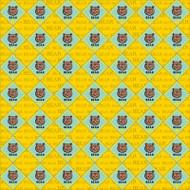 Bear Scatter 12x12 paper