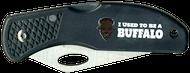 Wood Badge Buffalo Critter Head Lockback Knife