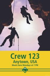 Custom Rock Climbing Crew Poster (SP4661)