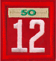 Double Number Cub Pack Unit Numeral With Veterans Bar Patch