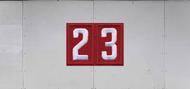 Troop Trailer Graphic Double Pack Unit Numeral (SP6538)