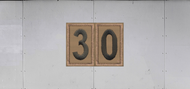Troop Trailer Graphic Double Boy Scout Troop Unit Numeral (SP6541)