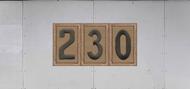 Troop Trailer Graphic Triple Boy Scout Troop Unit Numeral (SP6542)