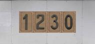 Troop Trailer Graphic Quadruple Boy Scout Troop Unit Numeral (SP6543)