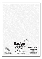 Badge Magic® Cut-To-Fit Kit Patch Adhesive