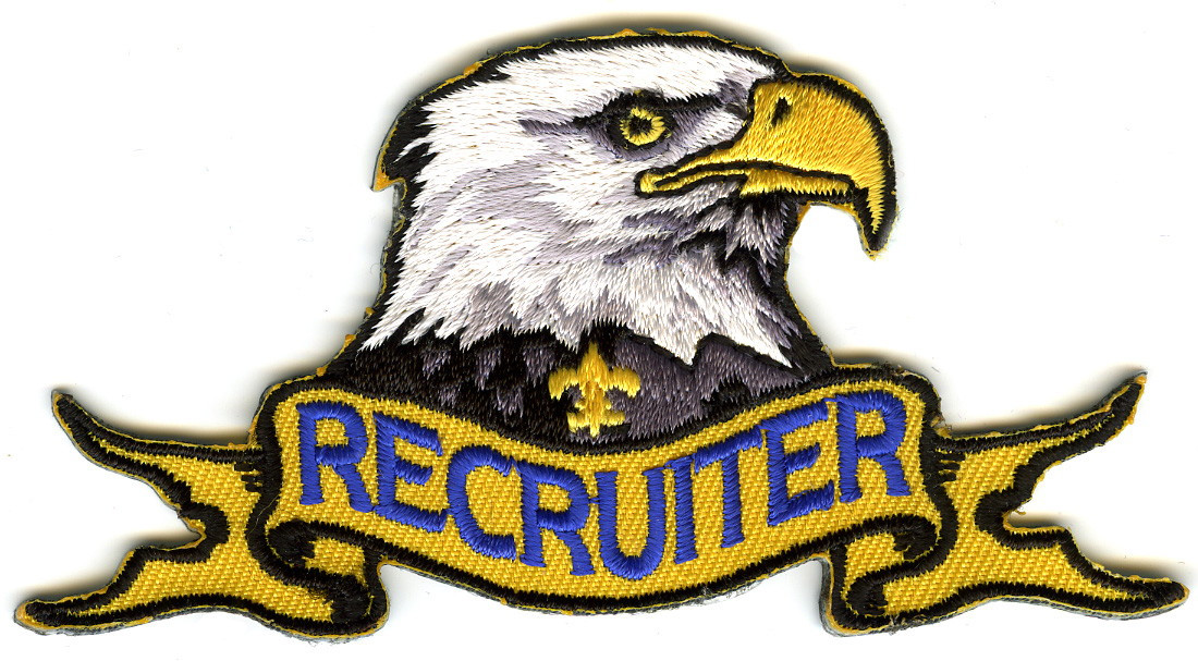 Eagle for Boy Scout Recruiting Patch