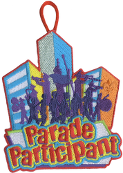 Parade Participant Patch