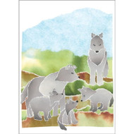 Wolves Note Cards
