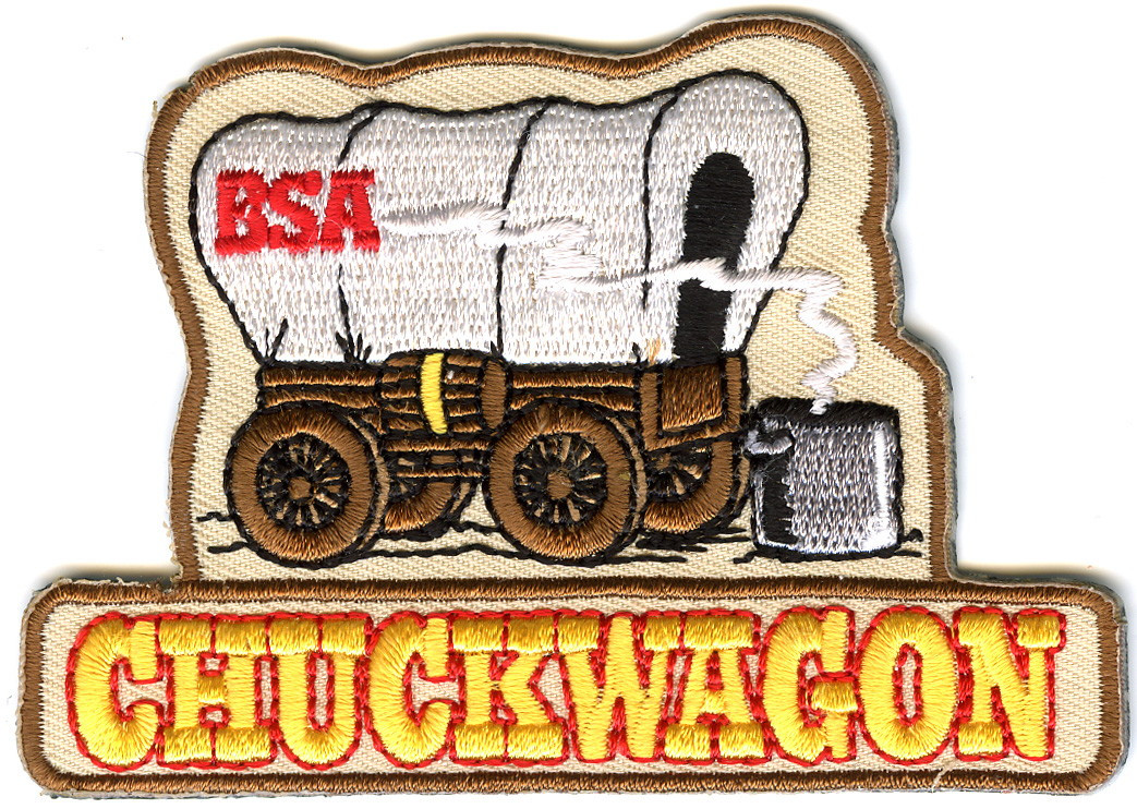 Chuckwagon BSA Patch