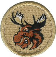Angry Moose  Patrol Patch