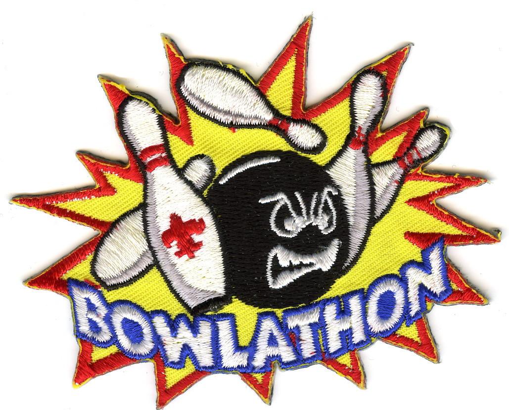 cub scout bowling bowlathon patch