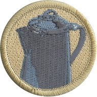 Official Licensed Old Coffee Pot Patrol Patch