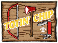 Totin' Chip Scout Patch