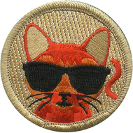 Official Licensed Cool Cat Patrol Patch