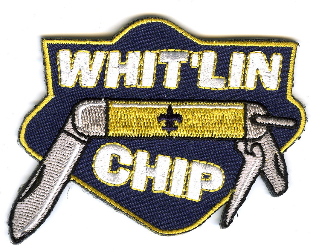 Whit'lin Chip Patch for Boy Scouts