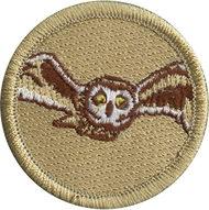 Flying Owl Patrol Patch
