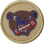 Bear with Candybar Patrol Patch