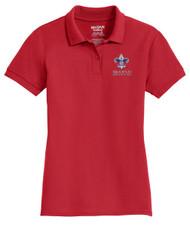 Double Pique Sport Shirt – Ladies with BSA Corporate Logo