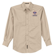 Port Authority® Long Sleeve Easy Care Shirt Men's with BSA Corporate Logo