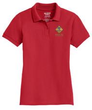 Double Pique Sport Shirt – Ladies with Cub Scout Logo