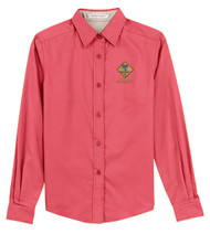 Port Authority® Ladies Long Sleeve Easy Care Shirt with  Cub Scout Logo