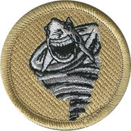 Sharknado Patrol Patch
