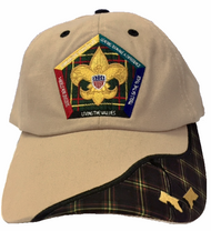 Wood Badge Two Bead Head Cap