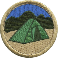 Camping Patrol Patch