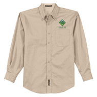 Port Authority® Long Sleeve Easy Care Shirt Men's with Venturing Logo