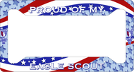 License Plate Frame Proud Of My Eagle Scout! SP6815
